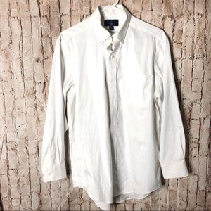 Buttoned Down Classic Fit Dress Shirt 15 1/2 32
